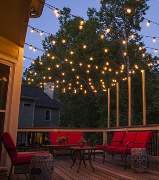 Prep Your Patio For Warmer Weather 5 Outdoor Lighting Ideas
