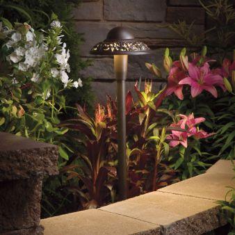 Kichler led landscape lighting reduces energy expenses the led lighting aloadofball Gallery